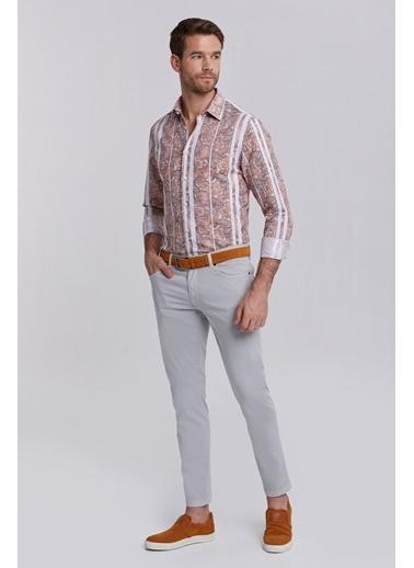 Hemington Slim Fit 5 Cep Açık Yazlık Pantolon Gri